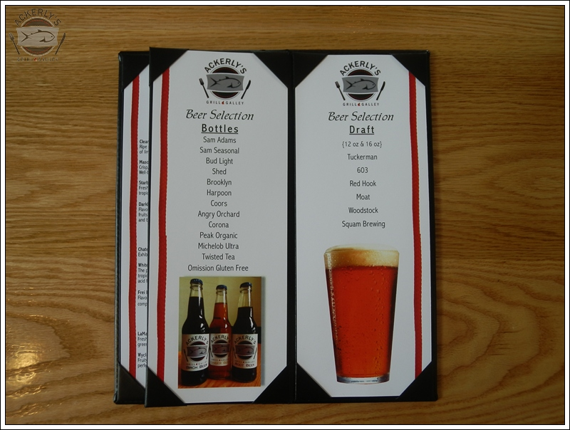 We offer local, hand-crafted beers on tap and in bottles as well as regional favorites.